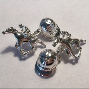 Christopher Simpson Horse Racing Cufflinks